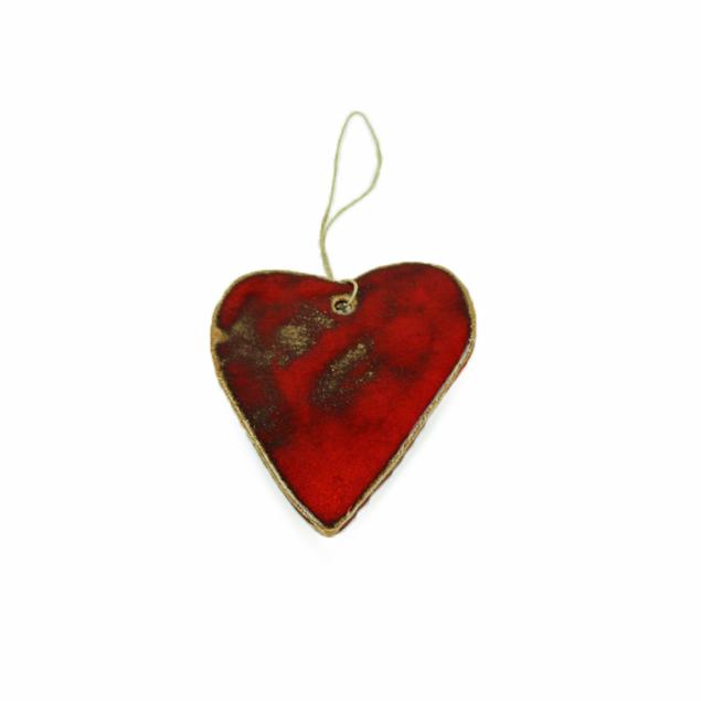 Hanger hart Rood