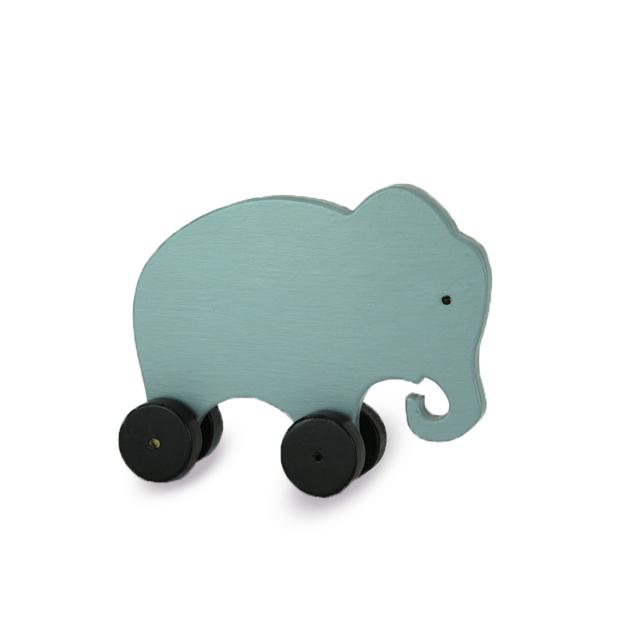 Houten olifant speelgoed